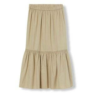 H&M Silk Premium Collection Ankle Length Skirt